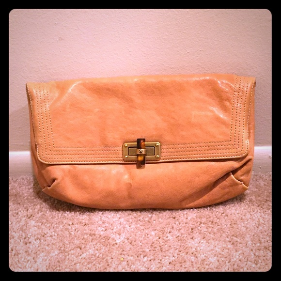 63ea3cdab813 Lanvin Handbags - Last Chance! EUC Lanvin Leather Fold-over Clutch